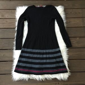 Cynthia Rowley 100% Merino Wool Sweater Dress